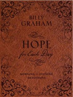 Bargain e-Book Devotional: Hope for Each Day {by Billy Graham} ~ $2.99! #kindle #books
