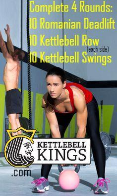 20 min Kettlebell