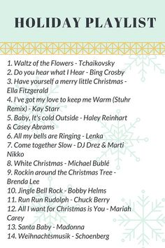 holiday playlist christmas playlist christmas tunes playlist music music songs music lyrics - Best Christmas Songs List
