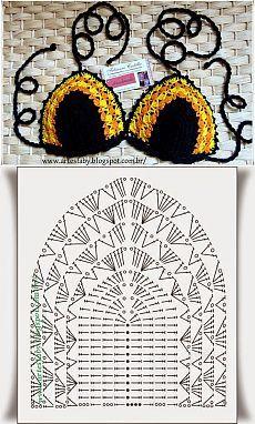 Crochet Beach Dress, Crochet Bikini Pattern, Crochet Shirt, Crochet Diagram, Crochet Motif, Crochet Stitches Patterns, Knitting Patterns, Crochet Crafts, Crochet Projects