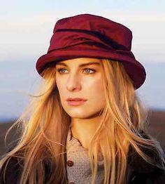 d7da8b15010 Ladies Jack Murphy Waterproof Malvern Hat Brown or Sienna Red One Size  56 57cm Country