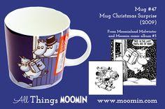 Moomin mug Christmas Surprise by Arabia - Moomin Moomin Mugs, Finland, Tea Pots, Tableware, Christmas, Kitchen Stuff, Original Artwork, Window, Colours