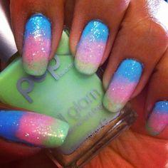 POP nail glam