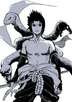 """"""" Quando uma cobra venenosa te morde e sabe extrair do veneno dela o antídoto . És um homem de valor  pois não sucumbiu aos venenos morais que mais matam os homens de verdade   .by P!v _ Sasuke Uchiha from Naruto"""