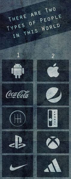 Comment which ones you think I am!! :)