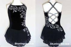 COMPETITION DRESS TS318 [TS318] - $159.95 :: Tina's Skate Wear - Custom Make-to-Fit Skating Dresss, Figure Skating Dresses, Baton Twirling/D...