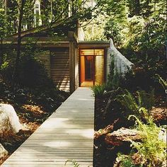 the wright guest house in washington by cutler anderson architects.