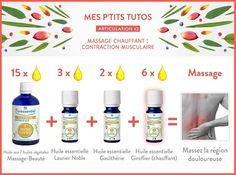 Le massage chauffant, pour calmer articulations sensibles et muscles échauffés.