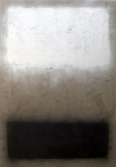 Marc Bijl, The Loss (after Mark Rothko), 2010 Admire Rothko and this painting devoid of color is striking in the loss of this color field painter.