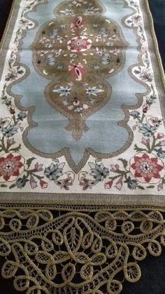 Cross Stitch Embroidery, Hand Embroidery, Cross Stitch Patterns, Bohemian Rug, Rugs, Crochet, Lace, Decor, Pattern