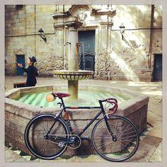 Mi bici. #fuji #bike #bici #cycle