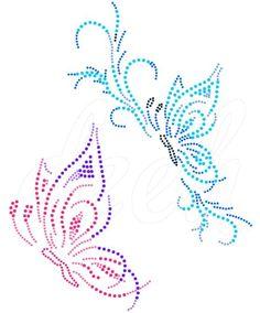 vlinders | Vlinder/Butterflies | glittermotifs