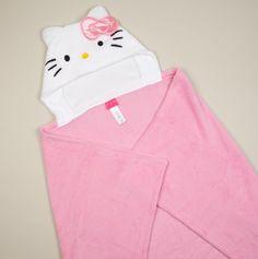 Hello Kitty Hooded Blanket