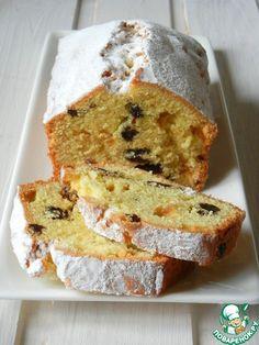 Plum-cake with raisins - Кекс с изюмом - кулинарный рецепт