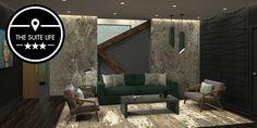 The suite life: Venus Williams designs a personalized wellness suite - http://www.elledecor.com/life-culture/travel/a10330318/venus-williams-suite/  #homestyle #interiors #decor