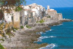 Trip to Mediterranean Coast, this is the coastline of a small town, Cefalu, in Sicily, Italy. Sicily Italy, Small Towns, Trips, Photographs, Coast, Traveling, Water, Sweet, Outdoor
