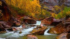 north fork virgin river utah | North Fork of the Virgin River, Zion Canyon, Utah (© Shutterstock)