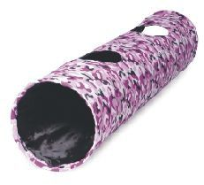 "Acticat Combat Play Tunnel 130cm   Purple Combat Giant Cat Tunnel - 130Cm (51"") Long !  Ancol Pet Products Ltd"