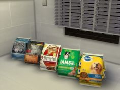 Real brand name bags of popular dry dog food. Found in TSR Category 'Sims 4 Dogs' Real brand name bags of popular dry dog food. Found in TSR Category 'Sims 4 Dogs' Sims 4 Cc Furniture, Dog Furniture, Sims Pets, Sims 4 Kitchen, Sims 4 Clutter, Sims Four, Play Sims, Sims 4 Build, Sims 4 Houses