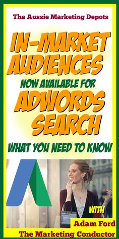 In-Market Audiences Now Available in Adwords Search Affiliate Marketing, Online Marketing, Digital Marketing, Media Marketing, Content Marketing, E Commerce Business, Business Tips, Online Business, Online Entrepreneur