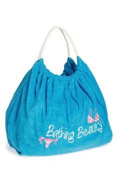 MIAMICA 'Wet Swim' Beach Bag (Juniors) available at #Nordstrom Cute pool bag !!