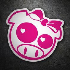 Pegatinas: Pig Love JDM #coche #pegatina #sticker Jdm Stickers, Love Stickers, Iron Man Birthday, Graffiti Doodles, Graffiti Characters, Vinyl Designs, Cute Drawings, Doodle Art, Street Art