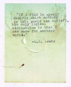 I belong somewhere else, not among this planet. Somewhere way else.
