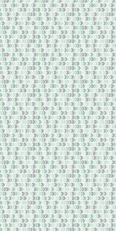 Vinyl wallpaper. Self-adhesive chevron aqua and by Yaelyaniv