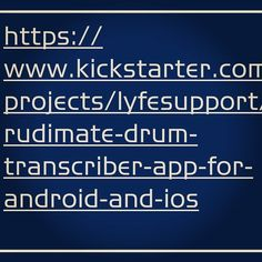 Attention all #percussionists #drummers and #drummettes!!! If this is something you desire it would be in your best interest to check this out share donate etc. Dreams do come true but It's throught #planning  #hardwork #dedication  #perseverance  #faith etc that these things really happen. @26gramdavillin has worked very hard on this #concept . Now in his absence im asking for your help. He's expressed to me that drummers/ percussionists truly understand the meaning of teamwork and coming…