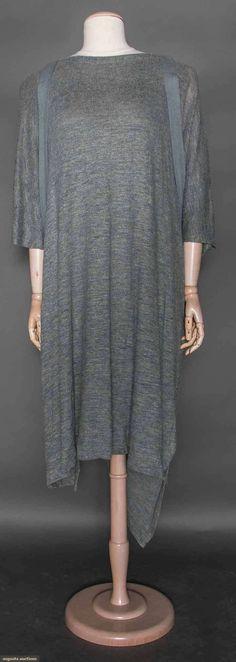 Issey Miyake Linen Knit Dress, C. 1990