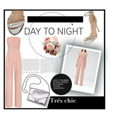 """""""Day to Night in Summer"""" by avivocsa ❤ liked on Polyvore featuring Reiss, River Island and Loeffler Randall"""