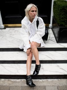The Street Style Long Painting, Always Judging, Fashion Outfits, Womens Fashion, Net Fashion, What To Wear, Street Wear, Normcore, Street Style