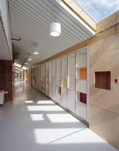 Sarah Wigglesworth Architects: Sandal Magna School, Wakefield.