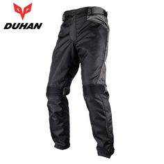 59.77$  Buy here - http://alit4n.worldwells.pw/go.php?t=32295649376 - DUHAN Men's Oxford Cloth Motocross Off-Road Riding Protective Pantalon with Two Knee Protector Motorcycle Racing Sports Pants 59.77$
