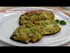 Placki z cukinii :: Skutecznie.Tv [HD] Quiche, Zucchini, Diet, Vegetables, Breakfast, Food, Youtube, Morning Coffee, Essen