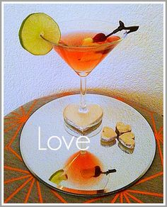 For the Love of copper! Valentine's Day Cocktail - Happy Moments - servies verhuur