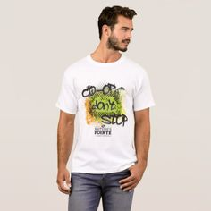 Co-op Don't Stop Men's T-shirt -nature diy customize sprecial design