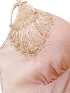 Shell Belle - Gatsby Chemise detail Designer Lingerie 7c4b33eef