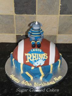 1000+ images about Leeds Rhinos cakes on Pinterest ...