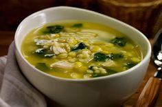 Esta sopa es muy rica, es un forma práctica de comer espinacas y que tengan un sabor  muy agradable.
