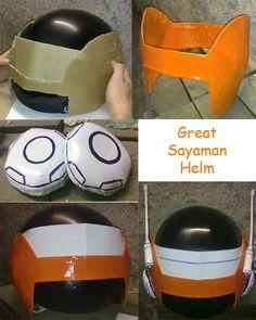 Great Saiyaman Helm cosplay by ~FardaDaCasino on deviantART