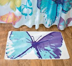 Spring Butterfly Bath Mat   Home U0026 Bathroom Decor OTC Http://www.
