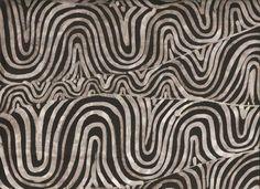Motivo inspirado nos molas / batik javanês sobre seda / Celso Lima 2005.