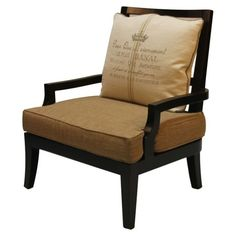 French Country Style Accent Chair.