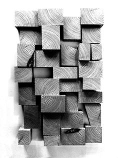 Pin do(a) carolina cardoso em architecture forms, textures a Wood Texture, Wood Wall Art, Textures Patterns, Sculpture Art, Wall Decor, Architecture, Artwork, Inspiration, Wood Blocks