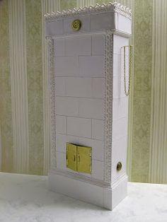 Miniature Dreamworld: tiled stove