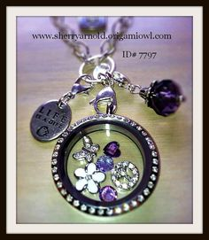 origami owl jewelry | Origami Owl Living Locket Review – Create Custom Jewelry just for ...