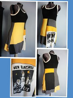 recycled t-shirt tunic