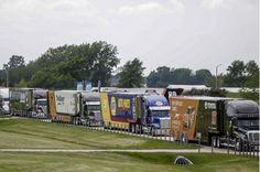NASCAR, Haulers, Transporters