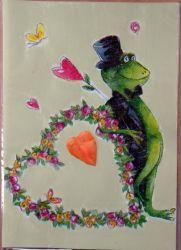 lustige-Hochzeitskarte-Frosch-Hochzeit
